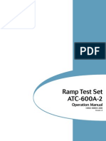 IFR ATC-600A Portable Ramp Test Set Operation Manual