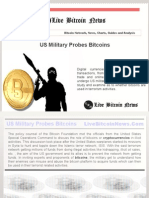 US Military Probes Bitcoins