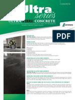 Ultra Fibre Concrete Brochure 01