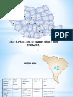Prezentare Romania Pe Judete Parcuri Industriale Si Clustere