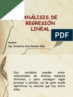 Curso de Estadistica 2014 REGRESIÓN Lineal