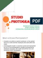 studio photography presentation