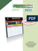 Buku Panduan Aplikasi Daftar Hadir Pegawai.pdf