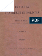 BURADA Istoria Teatrului in Moldova