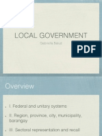 POS Report - Local Government