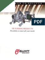 Elliot YR Steam Turbine