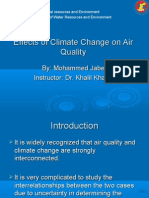 Effects of Climate Change on Air Quality Nw