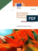 Prévisions Économiques Commission Européenne