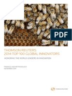 Top 100 Global Innovators 2014