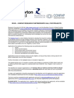 Edital Fundo Newton 2014 Confap Uk