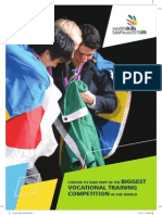 WorldSkills 2015 Brochure