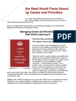 6 Real-World Facts About Career and Priorities