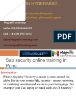 SAP SECURITY ONLINE TRAINING in hyderabad,kolkata.pptx