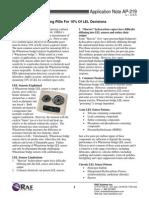 FeedsEnclosure-AP-219 PIDs for LEL