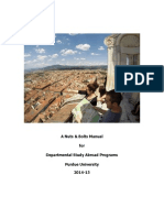 Departmental s a Program Manual
