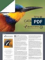 Rockjumper Birding Tours - Tour Catalogue