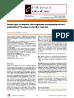 Endoscopic Retrograde Cholangiopancreatography-related