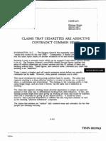TIMN0019963 Cigarettes Addictive Common Sense 1988