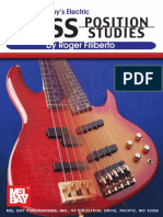 Electric Bass Position Studies