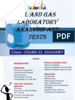 Oil and Gas Analysis