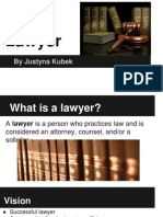 lawyer - personal finance - ms  kubek