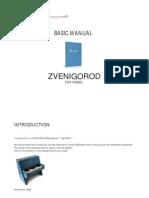 Zvenigorod Toy Piano Basic Manual