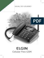 Manual Telefone Elgim Gsm200