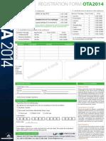OTA Myanmar 2014-Registration
