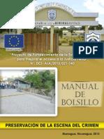 Manual de Bolsillo-preservacion de Escena Crimen