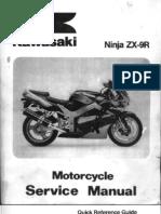 Kawasaki ZX9R 98-99