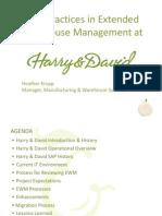 Harry_David_Best Practices in EWM 040414