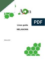 Melanoma_Linee guida AIOM 2013