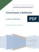 relatório do site em drupal pbworks