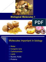Biological Molecules 1 2014 Oct 1