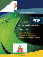 Syllabus Six Sigma Course Sdlinc 9600162099