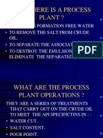 Why There is a Process Plant