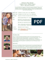 Play Garden Flyer and Form 2010