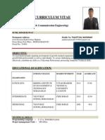 Sunil Curriculum Vitae 2