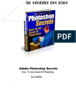 Adobe Photoshop Secrets - Tricks, Tutorials and Training to Get Amazing Effects- [SAW000]