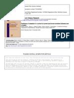 Hyland Et Al Nic &Tob Research Predictors of Cessation 13yrs