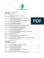 GITA Startup Boot Camp & DEMO DAY Agenda
