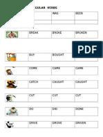 Illustrated Irregular Verbs