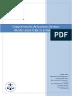 rhode island comprehensive assessment module