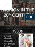 Fashion in the 20th Century