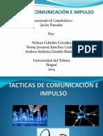 Tacticas de Comunicación e Impulso