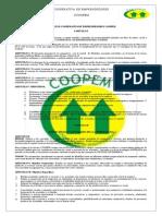 Estatutos_cooperativa_ de Emprendedores Coopem