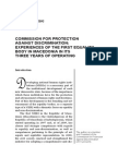 Dusko MINOVSKI COMMISSION FOR PROTECTION AGAINST DISCRIMINATION