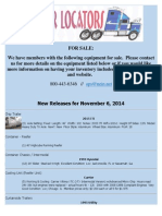 New Release - November 6, 2014