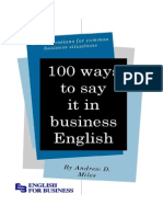 100 ways to say it