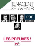 Tract - «Ils menacent notre avenir, les preuves !»
